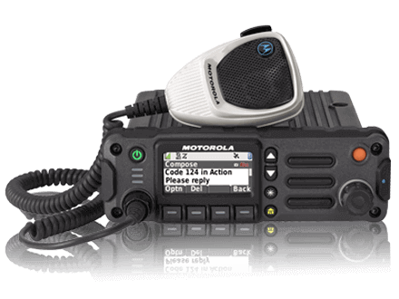 Motorla APX™ 4500 Public Safety Mobile Radio Augusta
